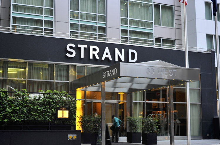 the strand hotel in new york city sold to marriott