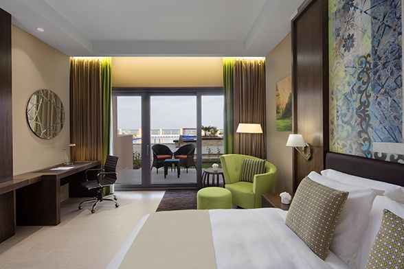Radisson Blu Hotel Room