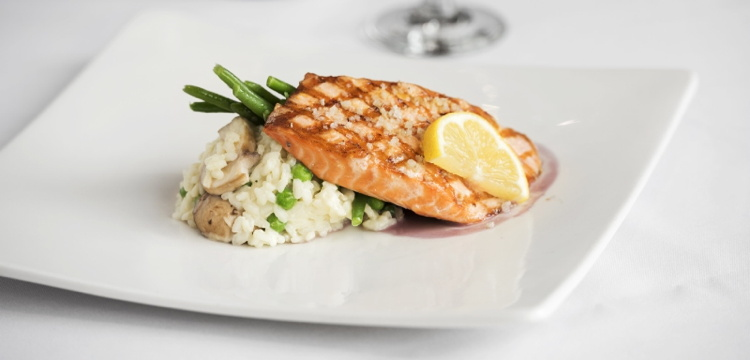 A dish from Princess Cruises 'Cook My Catch' program