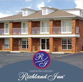 Richland Inn located in Lawrenceburg, TN