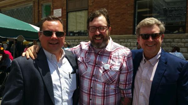 Developers (L-R) Todd Morgan, Travis Milton and Hal Craddock