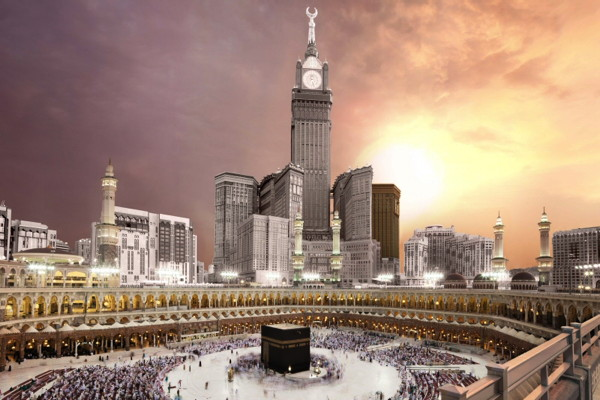Rendering of the Swissotel Al Maqam, Makkah