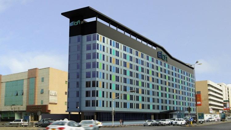 Rendering of the Aloft Riyadh Hotel