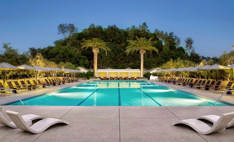 Solage Resort In Napa Valley - Pool
