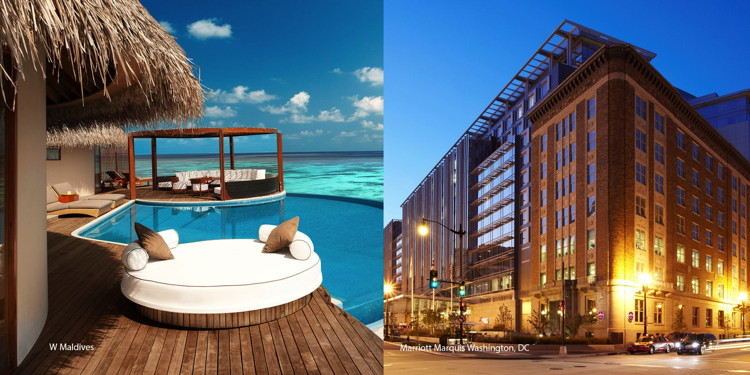 Two Marriott Hotels