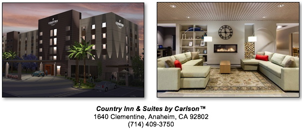 Country Inn And Suites Restaurant Anaheim Ca