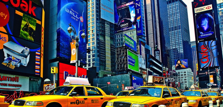 Times Square - image from Horwath Industry Report