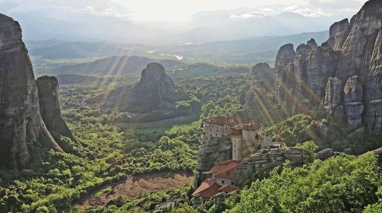 A landscape in Greece - Unsplash