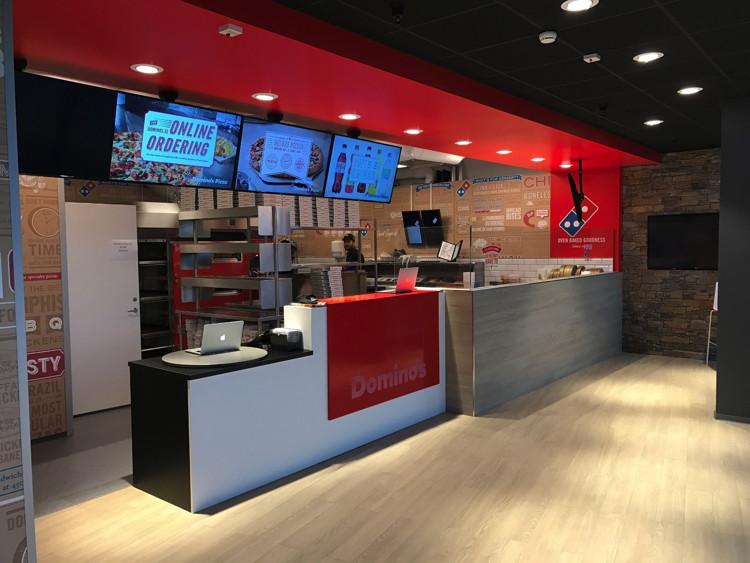 Domino's Store in Malmö, Sweden