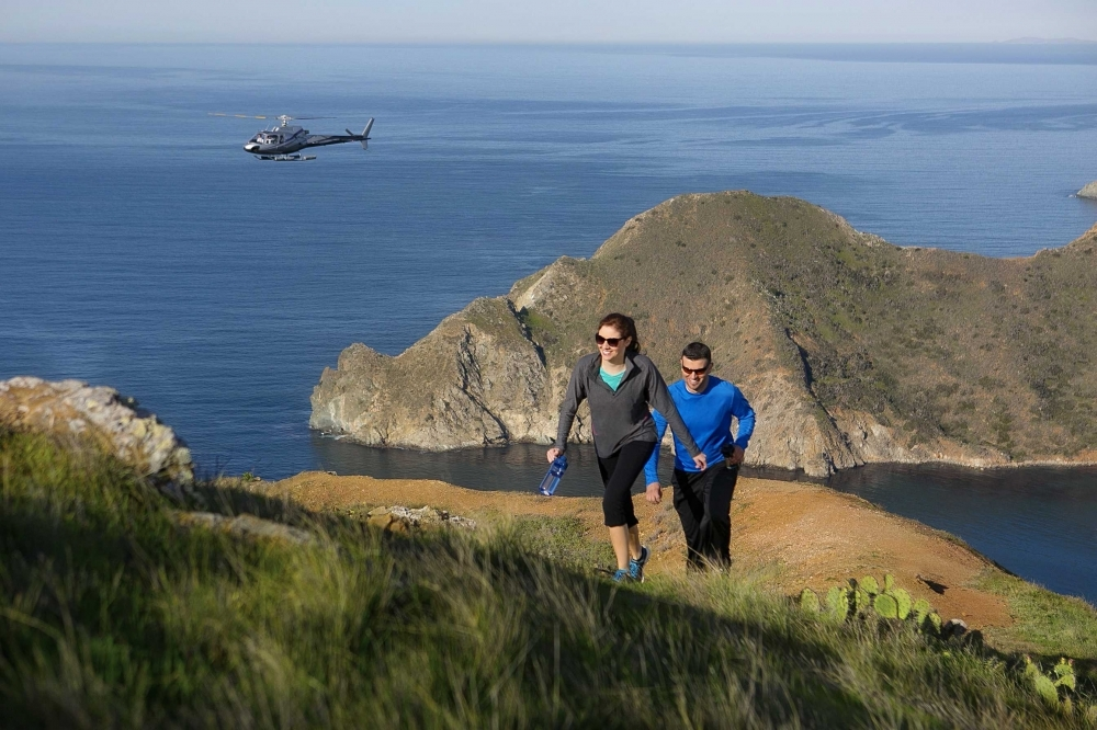 New Heli Expeditions Offer Catalina Island 194 S Most Scenic