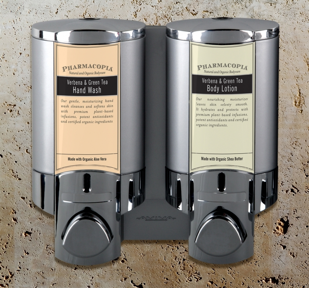 New Bathroom Amenity Dispensers From Pineapple Hospitality