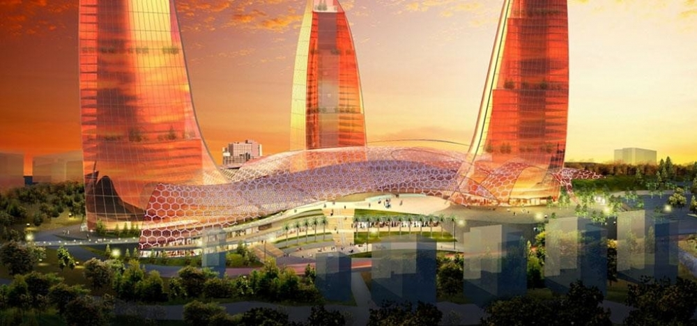 Photo Gallery For Fairmont Baku Flame Towers Opens In