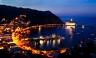 Santa Catalina Island Avalon Bay at Night