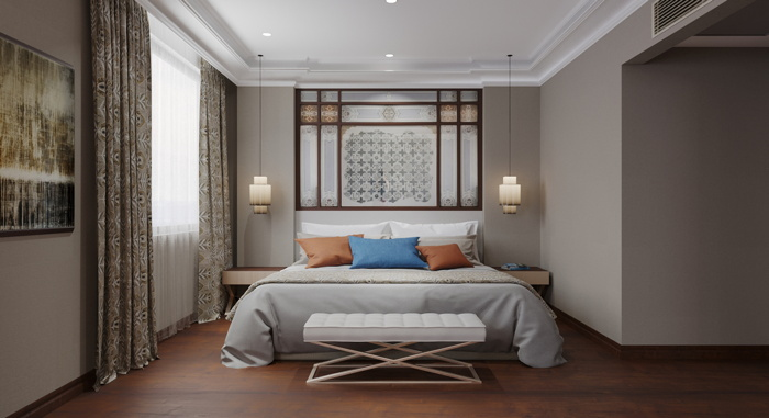 Guestroom at the Barceló Istanbul Hotel