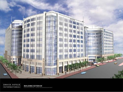 Choice Hotels International Inc New Corporate Headquarters Foulger Pratt Breaks Ground On