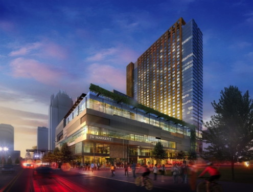 Rendering JW Marriott Austin