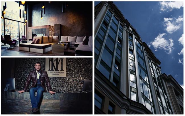 11 Mirrors Hotel Opens In Kiev
