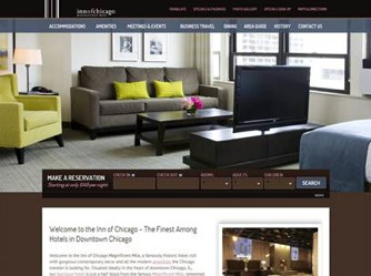 Inn of Chicago website screenshot