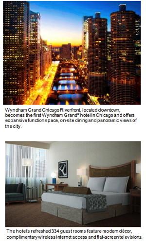 Chicago's First Wyndham Grand Hotel Opens Doors