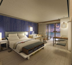 Coming this fall to St. Thomas, U.S. Virgin Islands is the Paul Vega designed stylistic dream room at the new Sugar Bay Resort & Spa, where each room features dramatic views of the Caribbean. (PRNewsFoto/Aimbridge Hospitality)