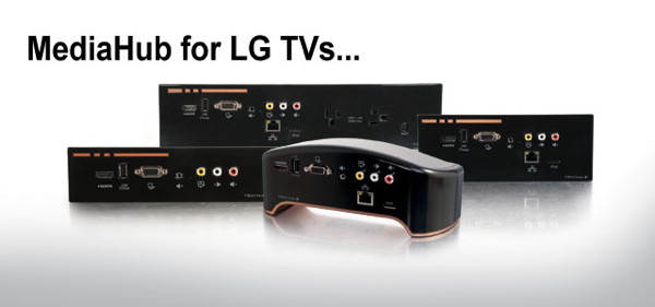 MediaHub connectivity fro LG Televisions