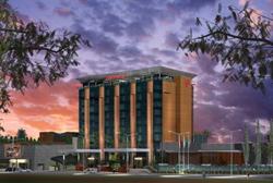 Sheraton Tucuman - Exterior Night - Rendering Source - Sheraton Hotels