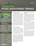CBRE Hotels Canadian Hotel Investment Trends - Q2 2013 Cover Page