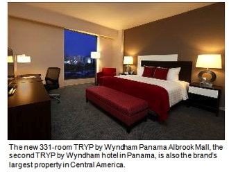 The 331-room TRYP by Wyndham Panama Albrook Mall