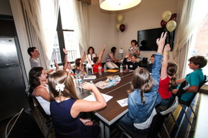 Participants at Residence Inn First-Ever Kids Roundtable on Travel