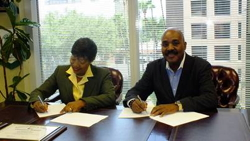 Signing Ceremony - Haiti Ministry of Tourism Signs Global Academic Partner (GAP) Agreement with Educational Institute