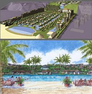 Rendering for Jumeirah Bali