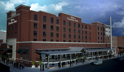Rendering - Hilton Garden Inn Lincoln Downtown/Haymarket
