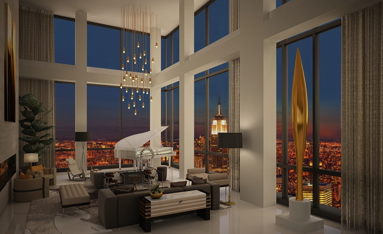 Trump Soho Condo Hotel Lists Presidential Penthouse For