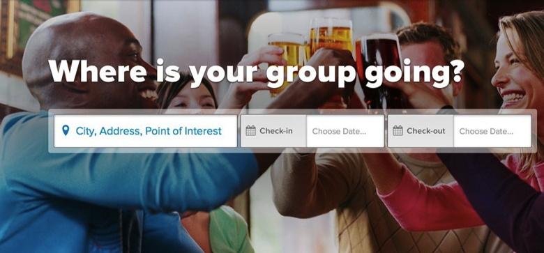 Partial Screenshot Groupize.com