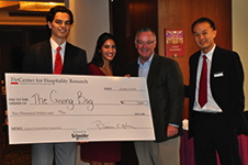 Winners of the 2013 Cornell Student Sustainability Competition