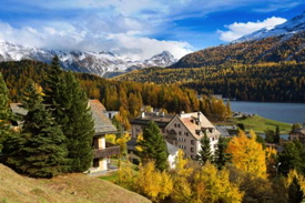St. Moritz Lake Switzerland