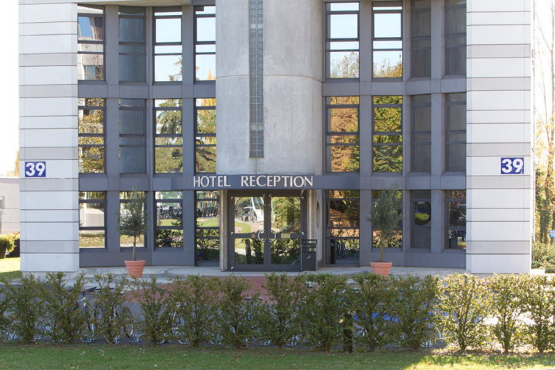 CERN Hotel Entrance