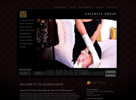 Screenshot - Valencia Group's Website