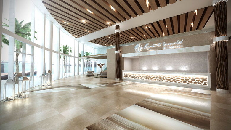 Resorts World Bimini Lobby Hotel News Resource