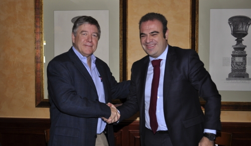 Picture from Signing Ceremeny of Meliá Hotels Agreement with IUF-UITA