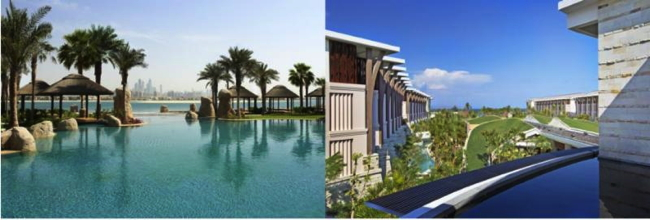 Pictured - Sofitel Hotels Resorts in Dubai and Bali