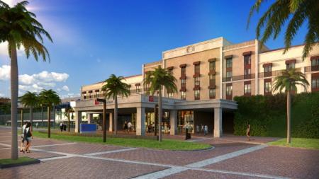 Rendering Hilton Garden Inn São Paulo Brazil