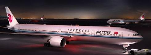 Air China Widebody Airplane