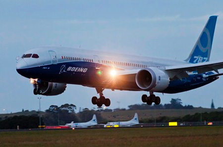 Boeing 787-9 Dreamliner Visits New Zealand in International Debut