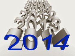 An image showing various years with 2014 in front
