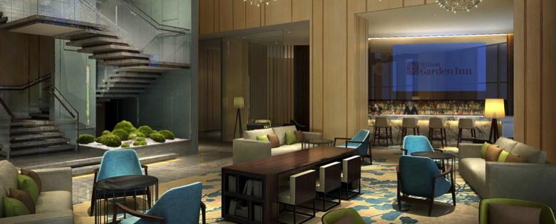 Rendering Hilton Garden Inn Shenzhen Bao'an Lobby