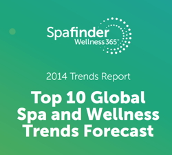 Cover Page Spafinder Wellness 365™ 2014 Report