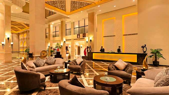 Lobby DoubleTree by Hilton Dhahran