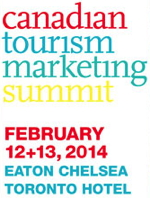 Advertisement for the Canadian Tourism Marketing Summit