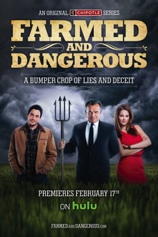 "Cover for ""Farmed and Dangerous"" Comedy Series"